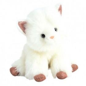 Accueil Histoire d'ours doudou Histoire d'ours Chat Blanc 25cms Glitter Pantin