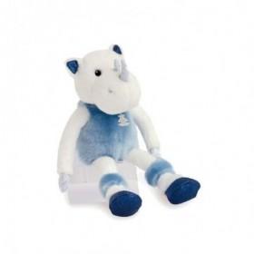 Accueil Histoire d'ours doudou Histoire d'ours Rhinoceros Bleu Rhinou 35cms HO2850 Les Petits Twist Pantin