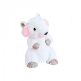 Accueil Histoire d'ours doudou Histoire d'ours Marmotte Blanc Cache Oreilles 18cms HO2829 Les Petits Twist Pantin