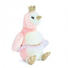 Accueil Histoire d'ours doudou Histoire d'ours Pingouin Rose 30cms HO2860 Pigloo Pantin