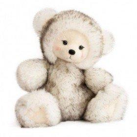 Accueil Histoire d'ours doudou Histoire d'ours Ours Blanc Piwi 28cms Signature Pantin