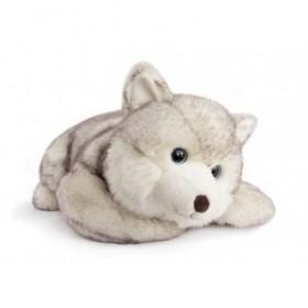 Accueil Histoire d'ours doudou Histoire d'ours Husky Gris 50cms HO2696 Signature Pantin