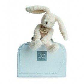 Accueil Histoire d'ours doudou Histoire d'ours Lapin Blanc 24 cms HO2643 Sweety Couture Pantin
