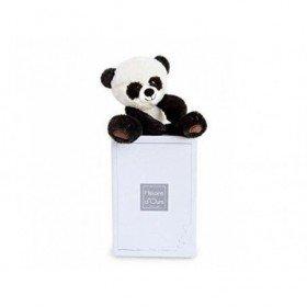 Accueil Histoire d'ours doudou Histoire d'ours Panda Noir 28cms HO2749 Choubis Pantin
