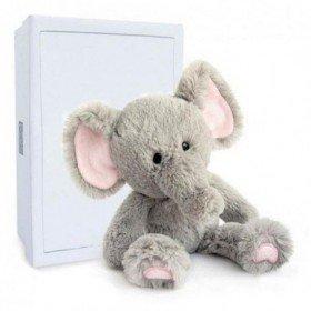 Accueil Histoire d'ours doudou Histoire d'ours Elephant Gris 28cms HO2749 Choubis Pantin