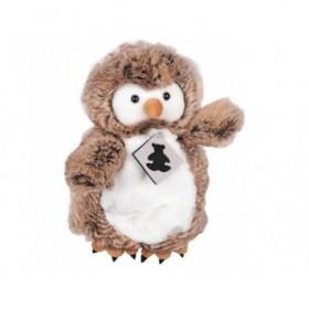 Accueil Histoire d'ours doudou Histoire d'ours Chouette Marron HO2426 Signature marionnette