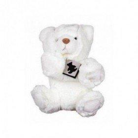 Accueil Histoire d'ours doudou Histoire d'ours Ours Blanc Alaska HO2422 Signature marionnette