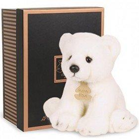Accueil Histoire d'ours doudou Histoire d'ours Ours Blanc Polaire HO2211 Les Authentiques Pantin