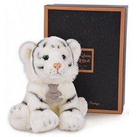 Accueil Histoire d'ours doudou Histoire d'ours Tigre Blanc HO2344 Les Authentiques Pantin