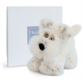 Accueil Histoire d'ours doudou Histoire d'ours Chien Blanc Scottish Les Softy Pantin