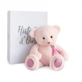 Accueil Histoire d'ours doudou Histoire d'ours Ours Rose Sorbet Charms Pantin