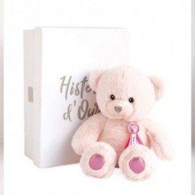 Accueil Histoire d'ours doudou Histoire d'ours Ours Rose Sorbet HO2806 Charms Pantin