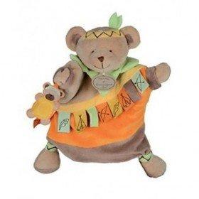 Accueil Histoire d'ours doudou Histoire d'ours Ours Marron Killian l'indien Les doudous marionnettes marionnette