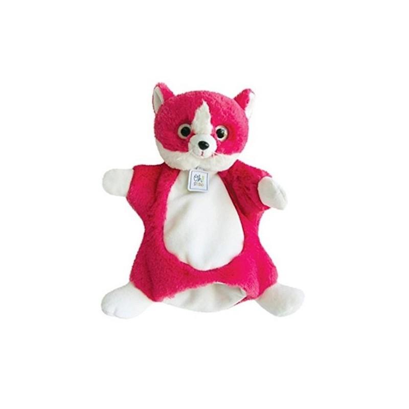 Accueil Histoire d'ours doudou oh studio Chat Rose Miniz marionnette