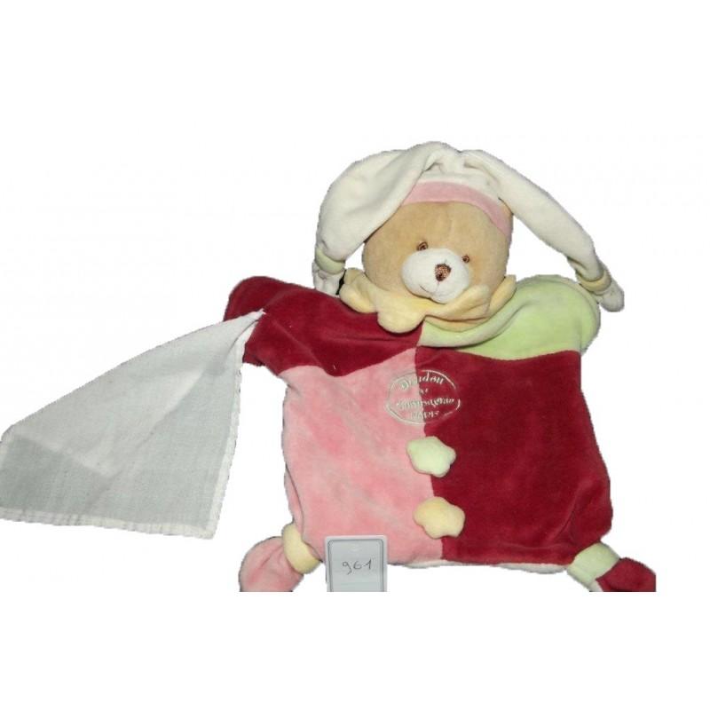 Accueil Doudou et Compagnie doudou Doudou et compagnie Ours Rose Myrtille Marionnette