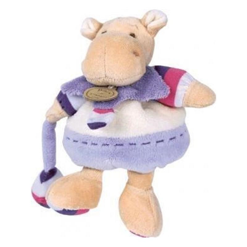 Accueil Doudou et Compagnie doudou Doudou et compagnie Hippo Violet Leo Z'amigolos Hochet