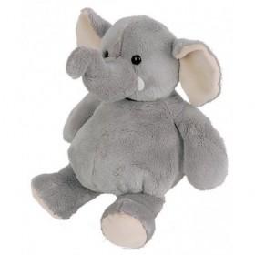 Accueil Doudou et Compagnie doudou Doudou et compagnie Elephant Gris 14cms HO1948 La Savane Pantin