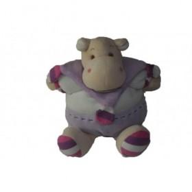 Accueil Doudou et Compagnie doudou Doudou et compagnie Hippo Violet Z'animoos Pantin