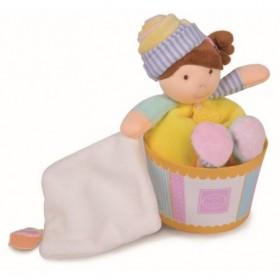 Accueil Doudou et Compagnie doudou Doudou et compagnie Poupee Jaune Cupcake DC2770 Les Cupcakes Poupee