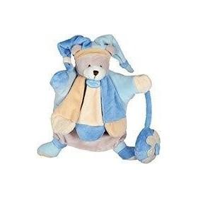 Accueil Doudou et Compagnie doudou Doudou et compagnie Ours Bleu DC2385 Les Collector Marionnette