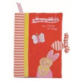 Accueil Doudou et Compagnie doudou Doudou et compagnie Lapin Rouge carnet de sante lapin rose DC2696 Carnet de Sante
