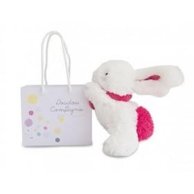 Accueil Doudou et Compagnie doudou Doudou et compagnie Lapin Rose fraise 14cms Mini Coucou Pantin