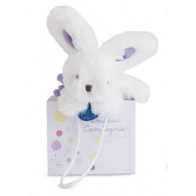 Accueil Doudou et Compagnie doudou Doudou et compagnie Lapin Violet lavande 14cms Mini Coucou Pantin