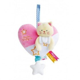 Accueil Doudou et Compagnie doudou Doudou et compagnie Chat Rose luminescent DC3015 Magic Musical
