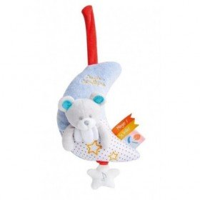 Accueil Doudou et Compagnie doudou Doudou et compagnie Ours Bleu lune Magic luminescent DC3015 Magic Musical
