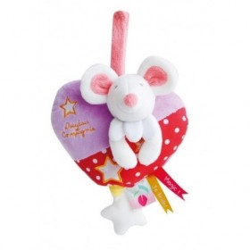 Accueil Doudou et Compagnie doudou Doudou et compagnie Souris Rouge lune Magic luminescent DC3015 Magic Musical