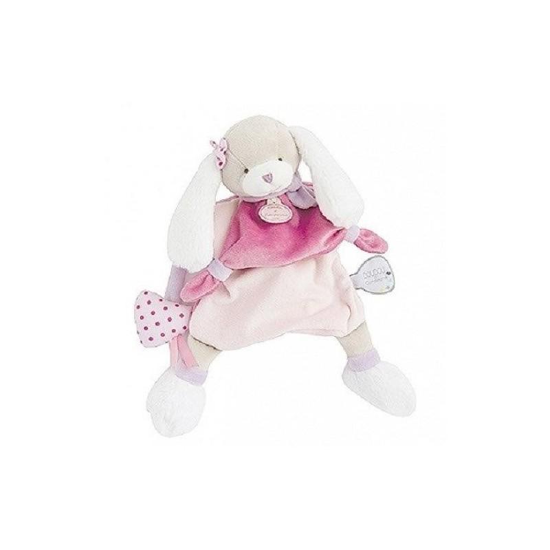 Accueil Doudou et Compagnie doudou Doudou et compagnie Chien Rose DC3083 Toopi & Nonette Marionnette