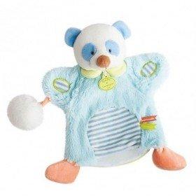 Accueil Doudou et Compagnie doudou Doudou et compagnie Koala Bleu Pompon blanc DC3051 Lovely Pistache Marionnette