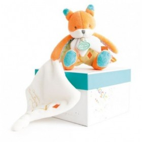 Accueil Doudou et Compagnie doudou Doudou et compagnie Renard Orange Magic avec mouchoir orange 25cms DC3023 Les Luminescents...