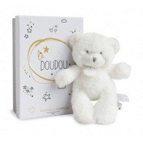 Accueil Doudou et Compagnie doudou Doudou et compagnie Ours Blanc etiquette argent 20cms Lumineux Pantin
