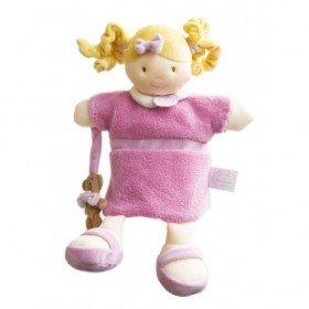 Accueil Doudou et Compagnie doudou Doudou et compagnie Poupee Rose Mlle DC2353 Melle Marionnette