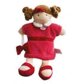 Accueil Doudou et Compagnie doudou Doudou et compagnie Poupee Framboise Mlle DC2352 Melle Marionnette