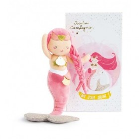 Accueil Doudou et Compagnie doudou Doudou et compagnie Sirene Rose Taissa DC3404 Miss Mermaid Pantin