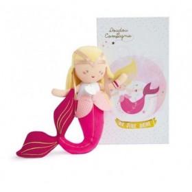 Accueil Doudou et Compagnie doudou Doudou et compagnie Sirene Jaune Blonde Mai DC3403 Miss Mermaid Pantin