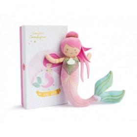 Accueil Doudou et Compagnie doudou Doudou et compagnie Sirene Rose Alizee DC3405 Miss Mermaid Pantin