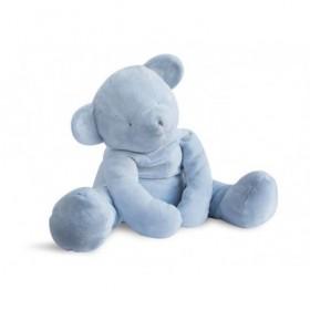 Accueil Doudou et Compagnie doudou Doudou et compagnie Ours Bleu XXL 70cms Aussi doux qu un doudou Pantin