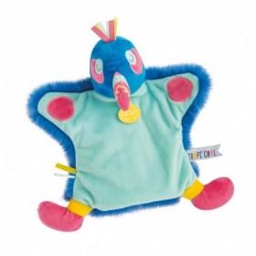 Accueil Doudou et Compagnie doudou Doudou et compagnie Toucan Bleu Deco Toucan 25 cm Tropicool Marionnette