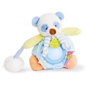 Accueil Doudou et Compagnie doudou Doudou et compagnie Panda Bleu DC3053 Lovely Veilleuse