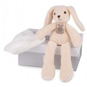 Accueil Doudou et Compagnie doudou Doudou et compagnie Lapin Marron avec Doudou 30cms HO2315 Sweety Pantin
