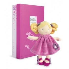 Accueil Doudou et Compagnie doudou Doudou et Compagnie Poupee Rose Pretty Demoiselle de doudou Pantin