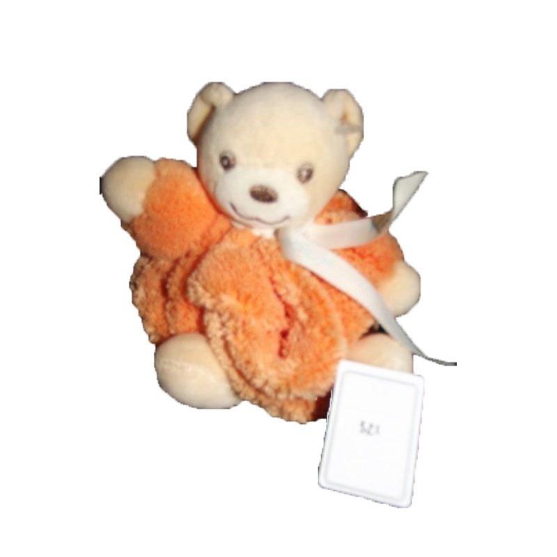 Accueil Kaloo doudou Kaloo Ours Orange boule 12cm Plume Pantin