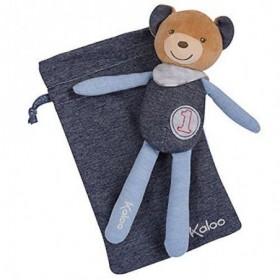Accueil Kaloo doudou Kaloo Ours Bleu champion Denim 20cms Blue Denim Pantin