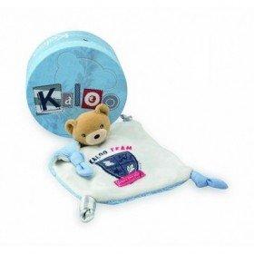 Accueil Kaloo doudou Kaloo Ours Bleu Team Denim Blue Denim Plat