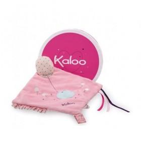 Accueil Kaloo doudou Kaloo Mouchoir Rose activite K969868 Petite Rose Eveil