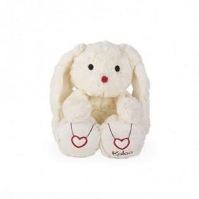 Accueil Kaloo doudou Kaloo Lapin Blanc Creme 31cms Rouge Kaloo Pantin