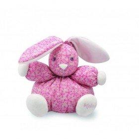 Accueil Kaloo doudou Kaloo Lapin Rose Tendance Imprime 18cms Petite Rose Pantin
